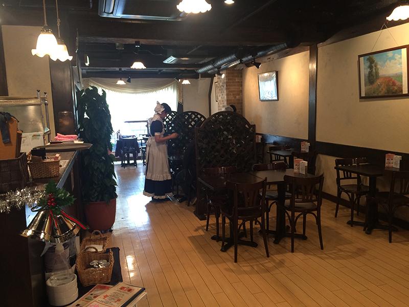 秋葉原のキュアメイドカフェ